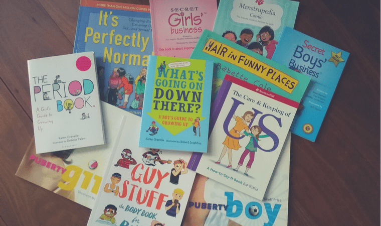 10 puberty books