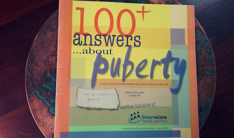 cover of 100+ Answers About Puberty by Interrelate