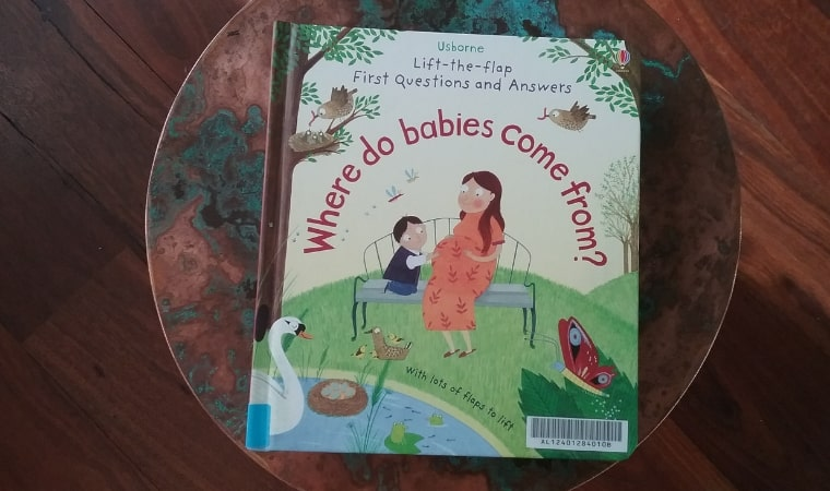 cover of where do babies come from by usborne books