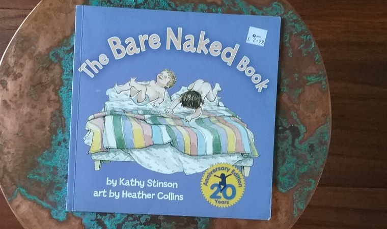 cover of The bare naked book by kathy stinson