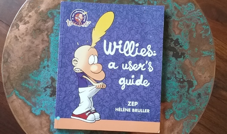 cover of Willies A users guide by zep helene bruller