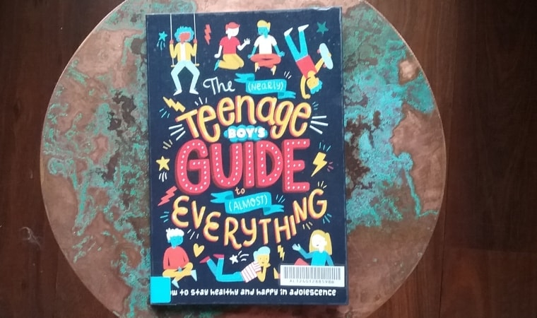 cover of the nearly teenage boys guide to almost everything