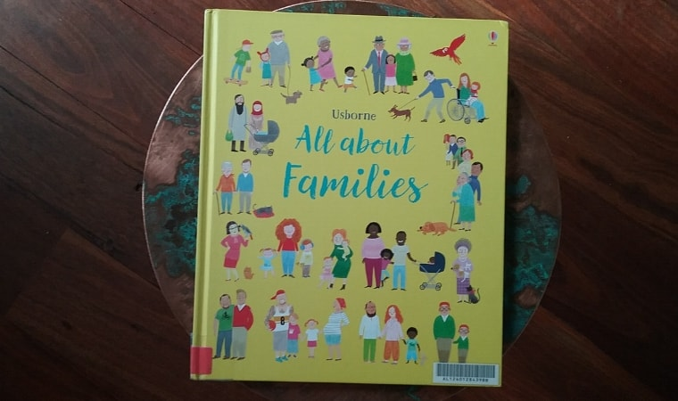 cover of All About Families by Felicity Brooks