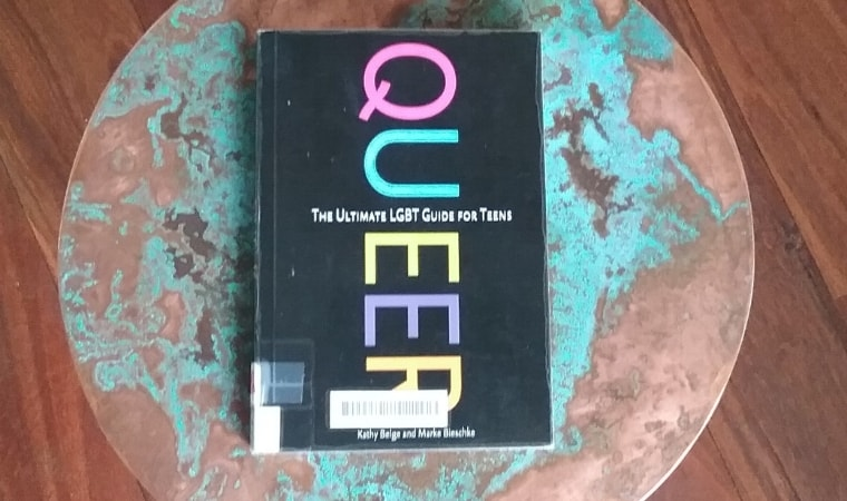 cover of QUEER The ultimate LGBT guide for teens