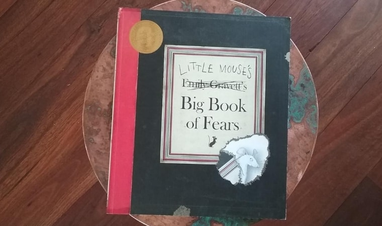 cover of Little Mouse's Big Book of Fears by Emily Gravett
