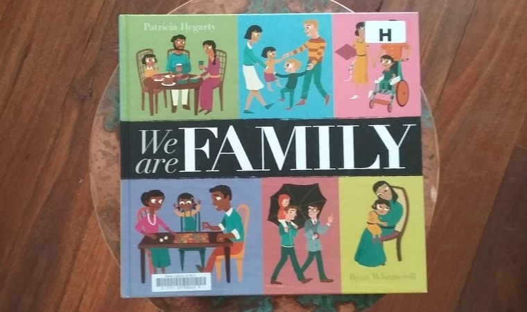 cover of We Are Family by Patricia Hegarty