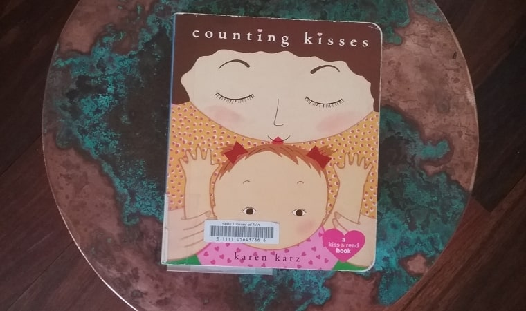 cover of Counting Kisses by Karen Katz