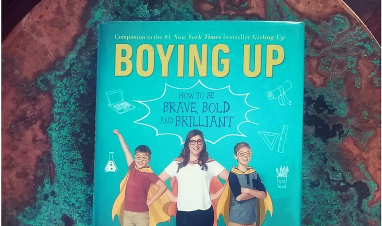 cover of Boying Up by Mayim Bialik