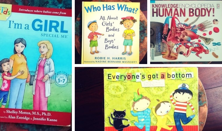 Childrens Sex Education Books about Body Parts