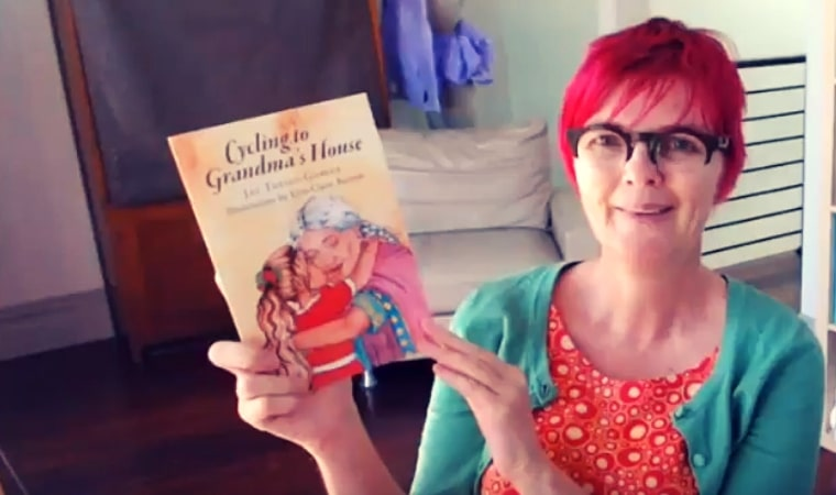 cover of Cycling to Grandma's House by Jac Torres-Gomez