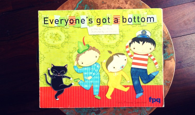 cover of Everyone's Got a Bottom by Tess Rowley