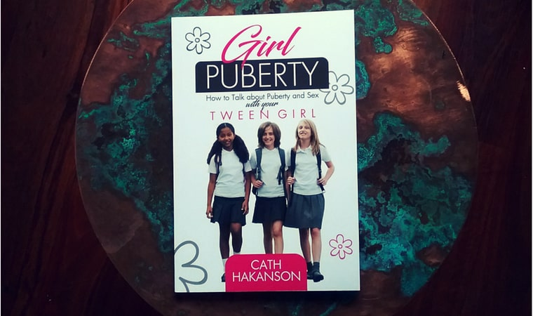 cover of Girl Puberty by Cath Hakanson