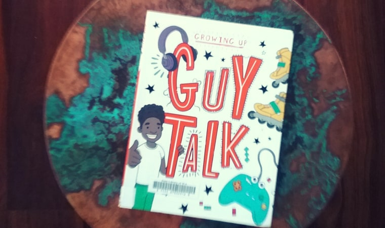 cover of Guy Talk by Lizzie Cox