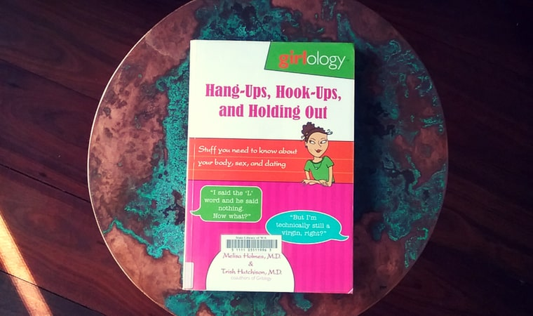 cover of Hang-ups, Hook-ups, and Holding Outby Melissa Holmes and Trish Hutchison (Girlology)