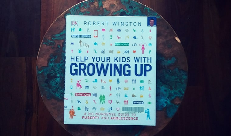 cover of Help Your Kids With Growing Up by DK