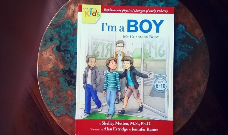 cover of I'm a Boy My Changing Body by Shelley Metten