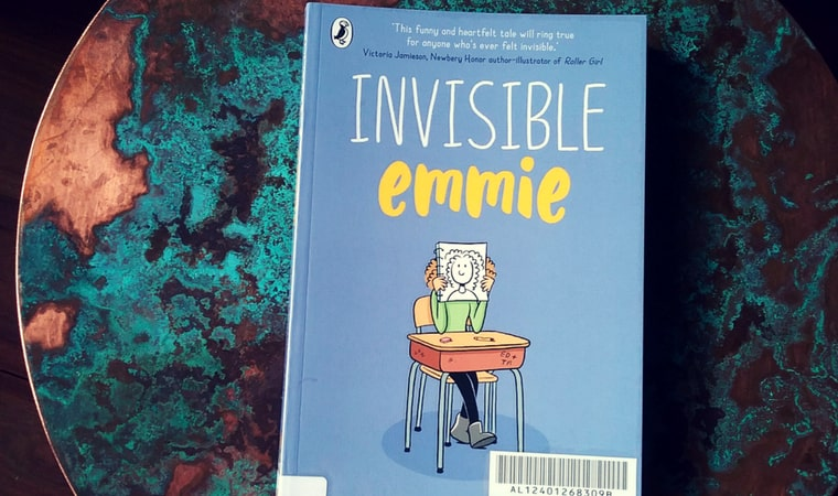 cover of Invisible Emmie by Terri Libenson