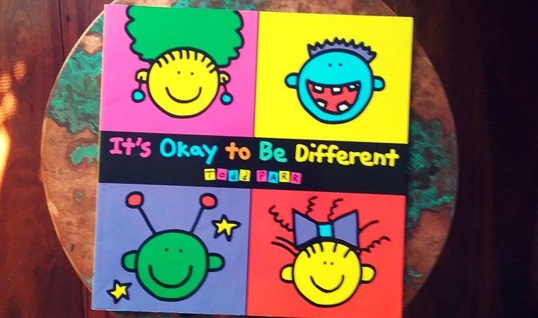 cover of It's Okay to be Different by Todd Parr
