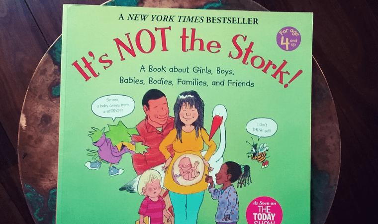 cover of Its not the stork by Robie H. Harris