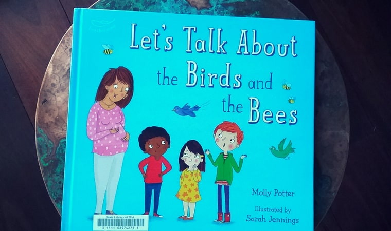 cover of Let's Talk About the Birds and the Bees by Molly Potter
