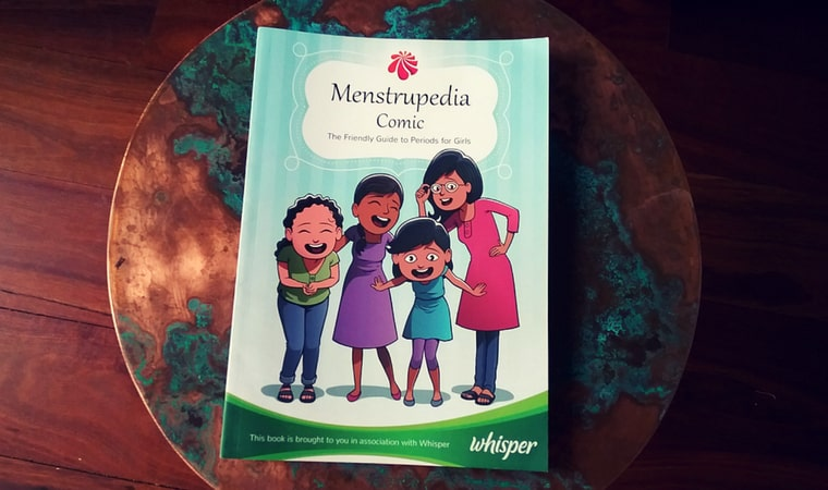 cover of Menstrupedia