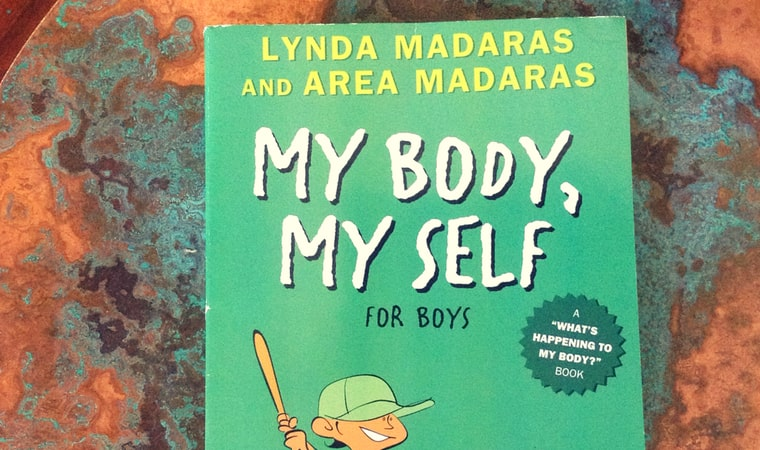 cover of My Body My Self for Boys
