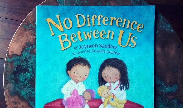 cover of No Difference Between Us by Jayneen Sanders