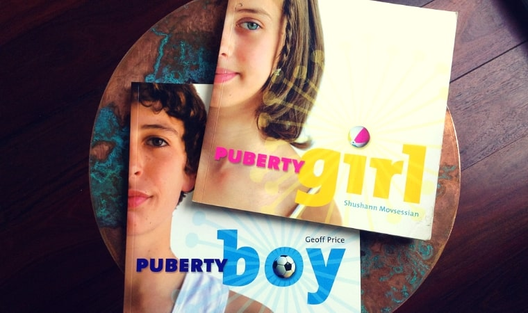 cover of Puberty Boy and Puberty Girl