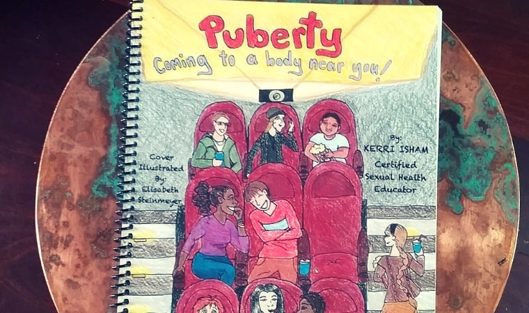 cover of Puberty Coming to a Body Near You by Kerri Isham
