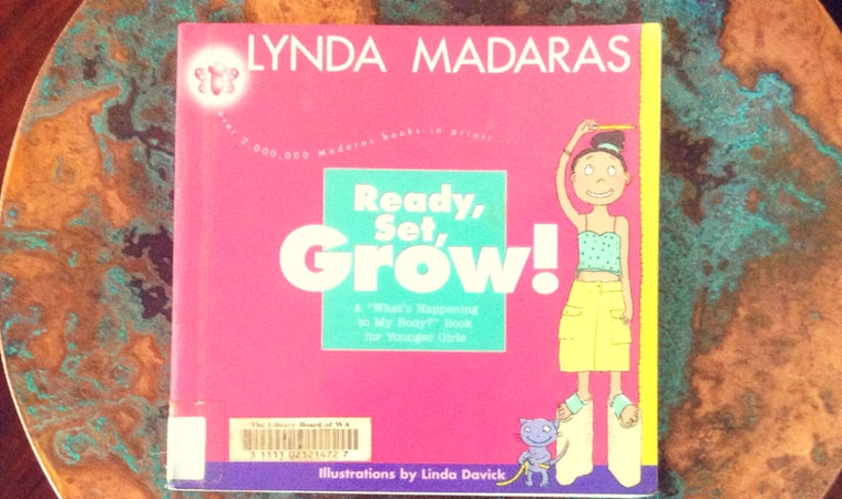 cover of Ready, Set, Grow! book by Lynda Madaras