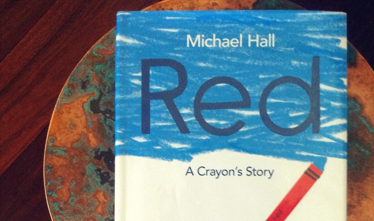 cover of Red A Crayon's Story by Michael Hall