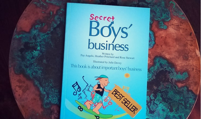 cover of Secret Boys' Business book review
