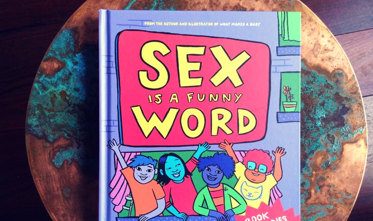 cover of Sex is a Funny Word by Cory Silverberg