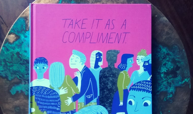 cover of Take It as a Compliment book by Maria Stoian