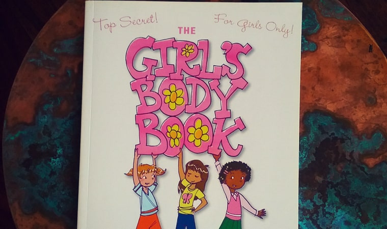 cover of The Girl's Body Book by Kelli Dunham