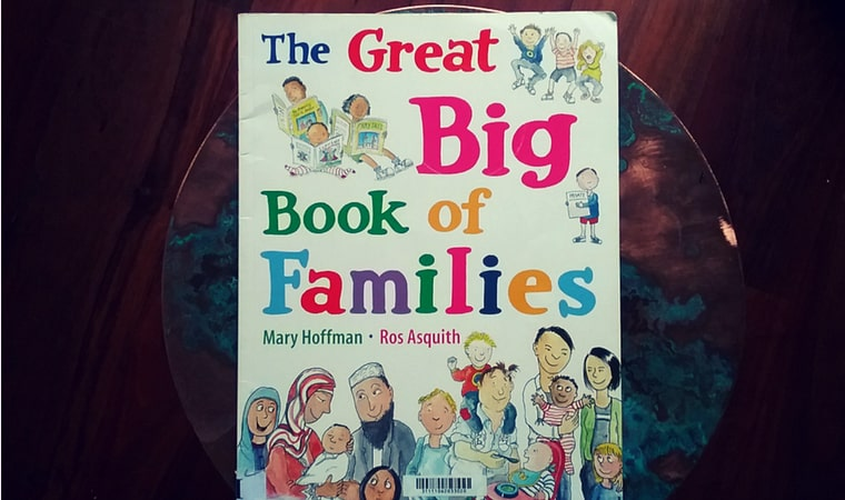 cover of The Great Big Book of Families by Mary Hoffman & Ros Aquith