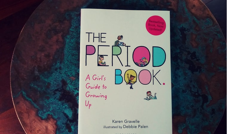 cover of The Period Book by Karen Gravelle