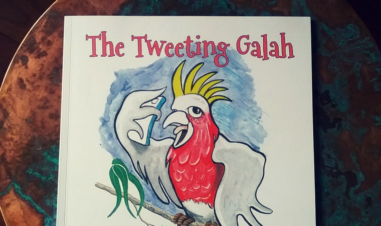 cover of The Tweeting Galah by Kim Maslin