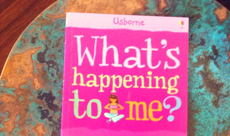 cover of What's happening to me for girls