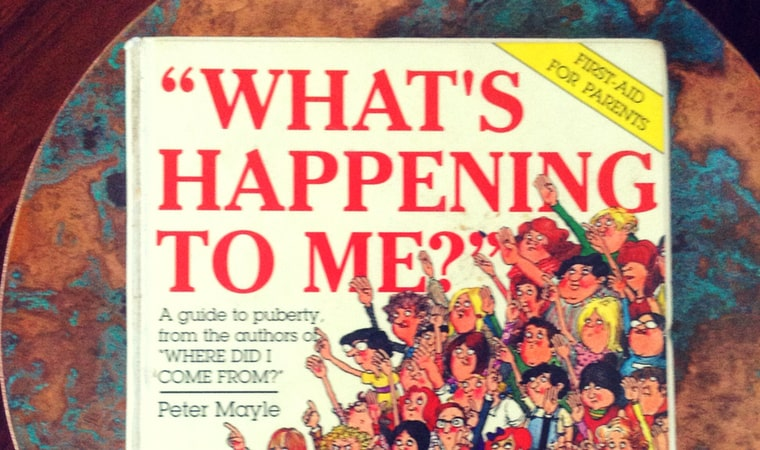 cover of What's happening to mePeter Mayle book