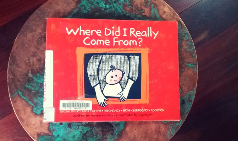 cover of Where Did I Really Come From by Narelle Wickham