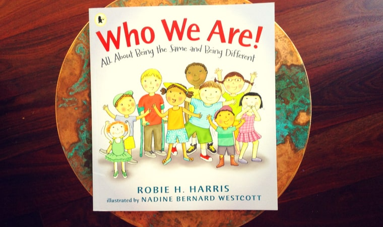 cover of Who We Are! All about being the same and being different by Robie H. Harris