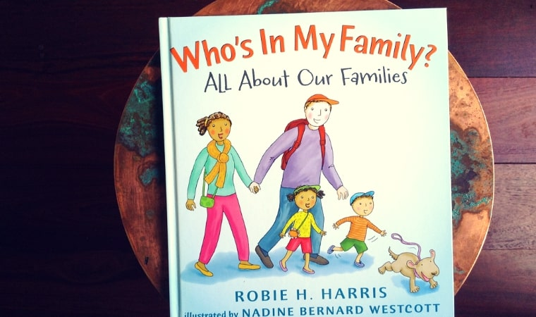 cover of Who's in my family All about our families by Robie H. Harris