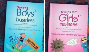 Secret Boys Business and Secret Girls Business books
