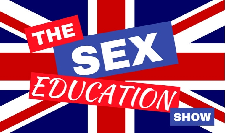 flag for the british the sex education show